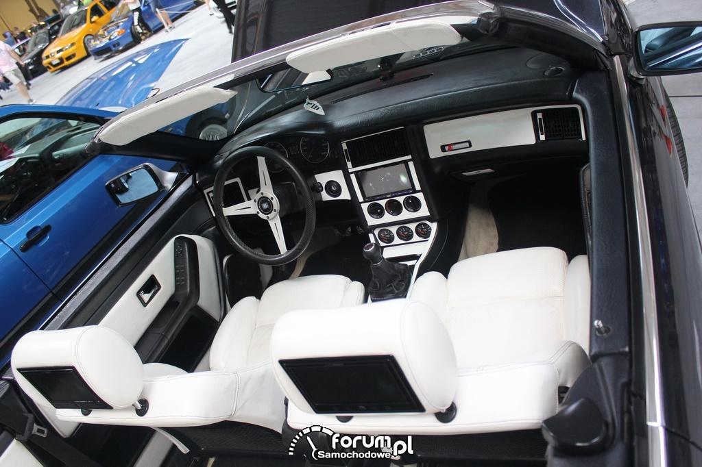 audi 80 cabrio b4 wn trze zdj cie tuning show 2014 krak w. Black Bedroom Furniture Sets. Home Design Ideas