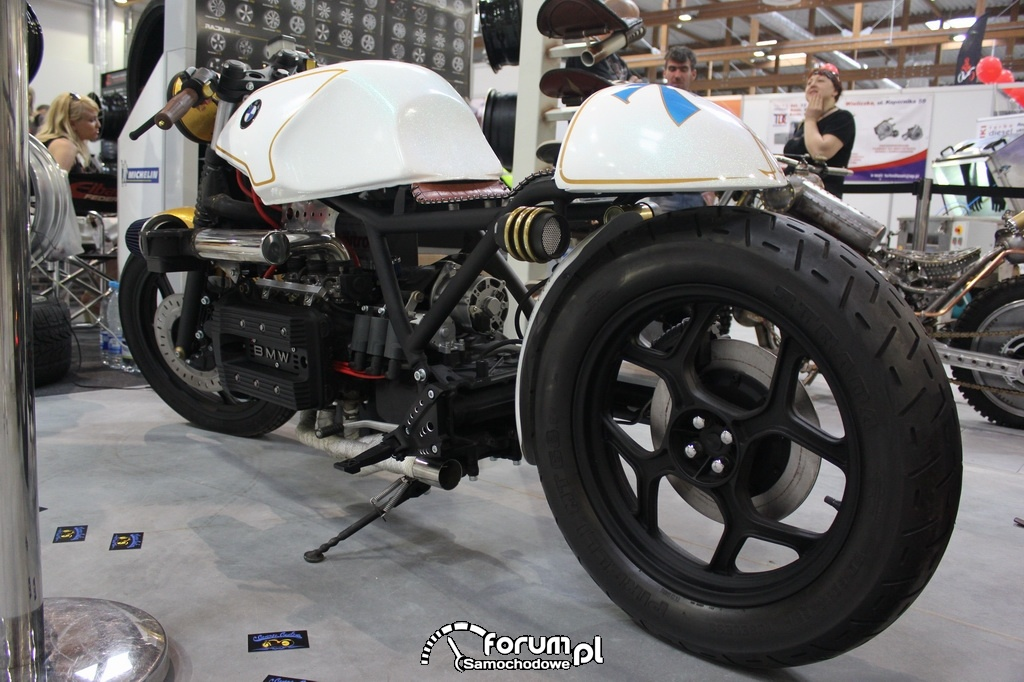 BMW Cafe Racer, motor