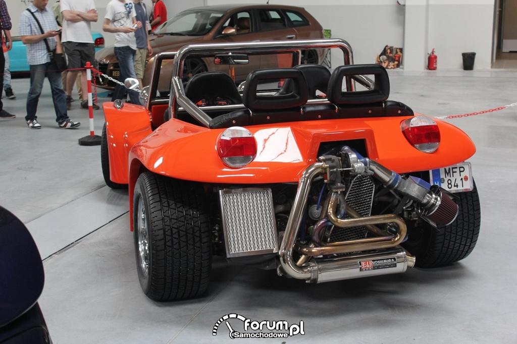Buggy, silnik, tył