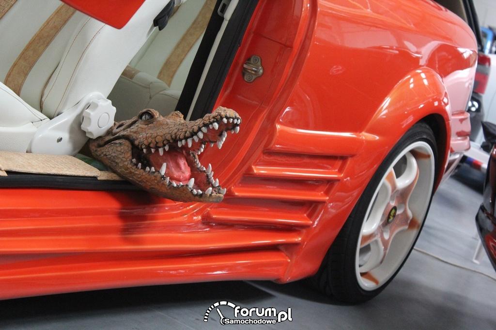 Krokodyl, Opel Calibra