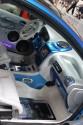 Peugeot 206, tuning, wnętrze