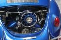 VW Garbus Cabrio, chromowane elementy silnika