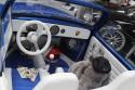 VW Garbus Cabrio, jasne wnętrze