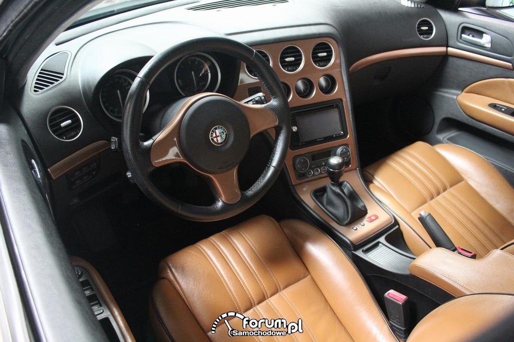 Wnętrze Alfa Romeo 156 Kombi, tuning