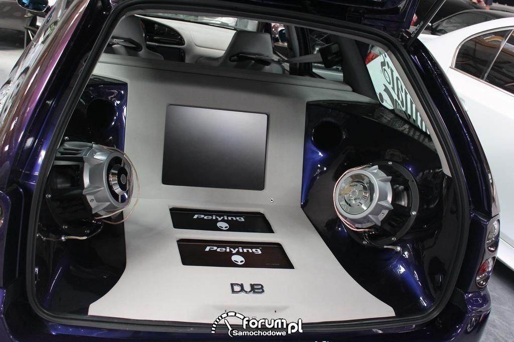 Zaktualizowano Zabudowa bagażnika kombi, Car Audio Peiying zdjęcie : Tuning Show MQ03