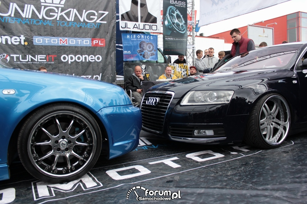 Audi A6 vs Volkswagen Bora