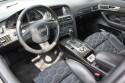 Audi A6, wnętrze, skóra