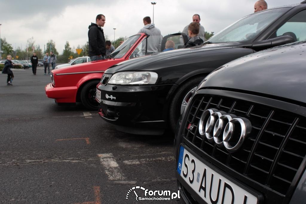 Audi S3, grill