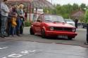 Czerwony Volkswagen Golf I Cabrio