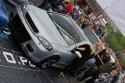 Opel Astra G Coupe, czarne alufelgi