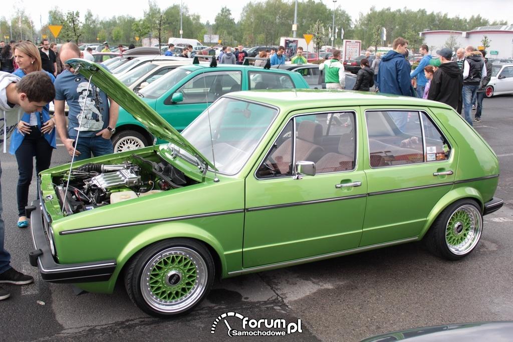Volkswagen Golf I, bok