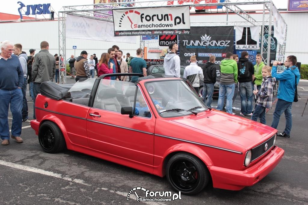 Volkswagen Golf I, cabrio