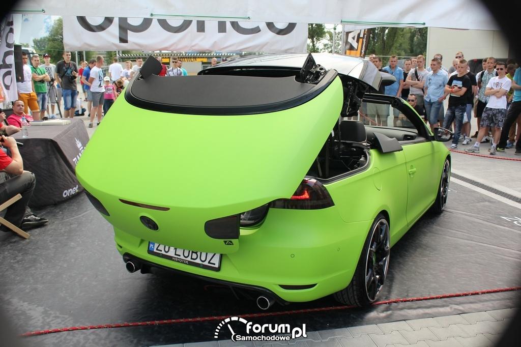 Volkswagen Eos, R-Design, Cabrio, otwieranie dachu