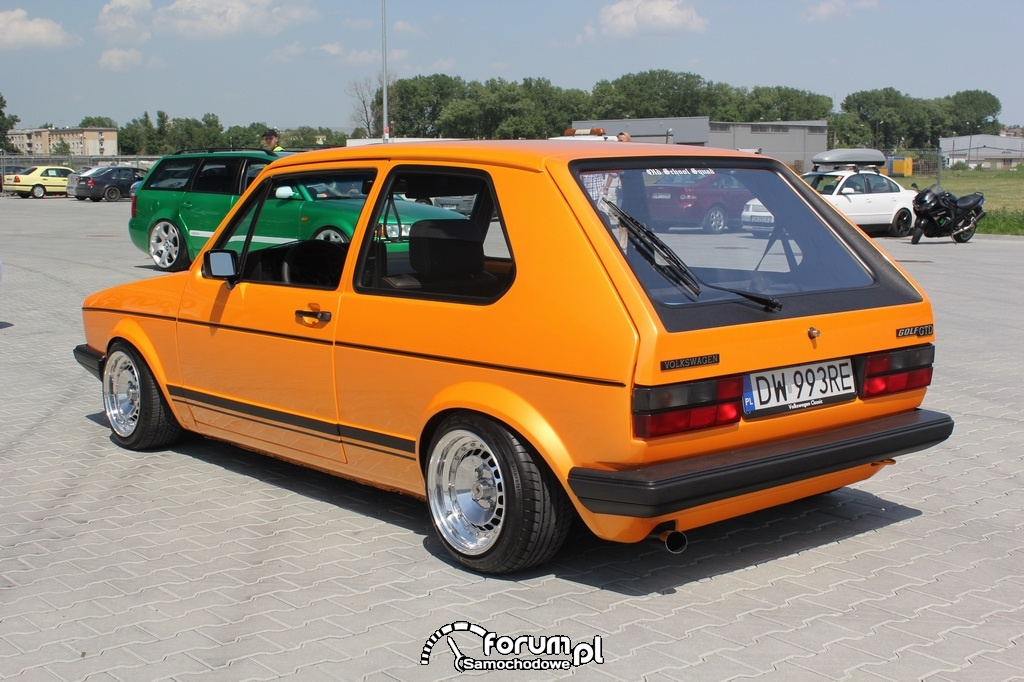 VW Golf I GTD, tył