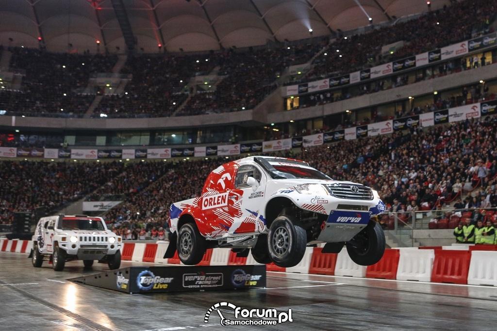 Adam Małysz i Rafał Marton, Toyota, ORLEN Team