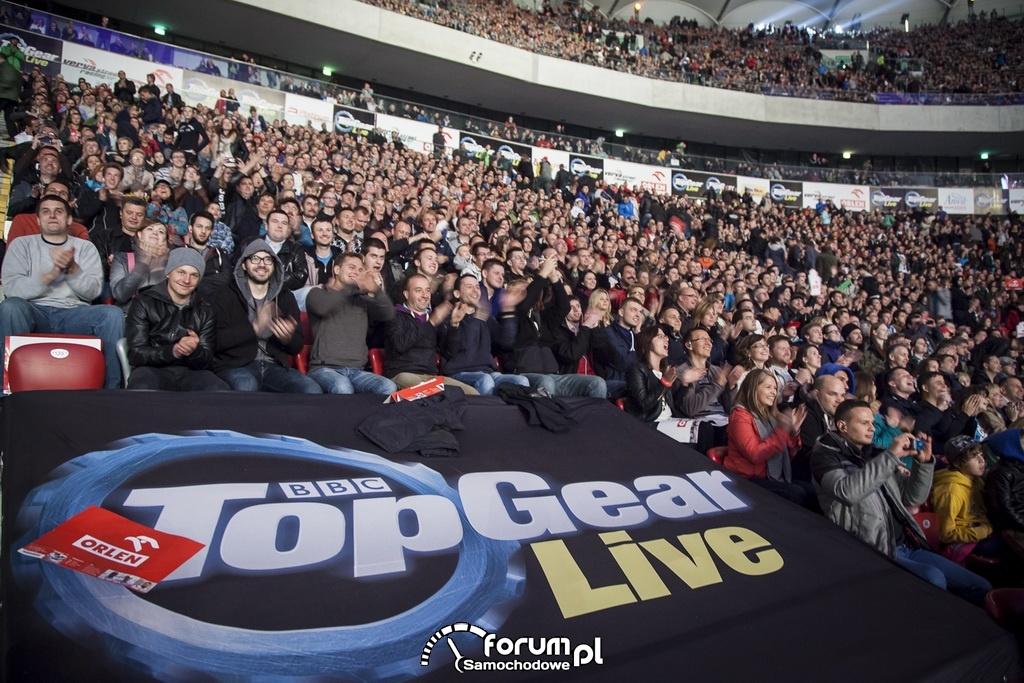 Publiczność na Top Gear Live w Warszawie
