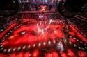 Podświetlenie toru na stadionie na kolor czerwony