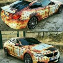 BMW wrap rust
