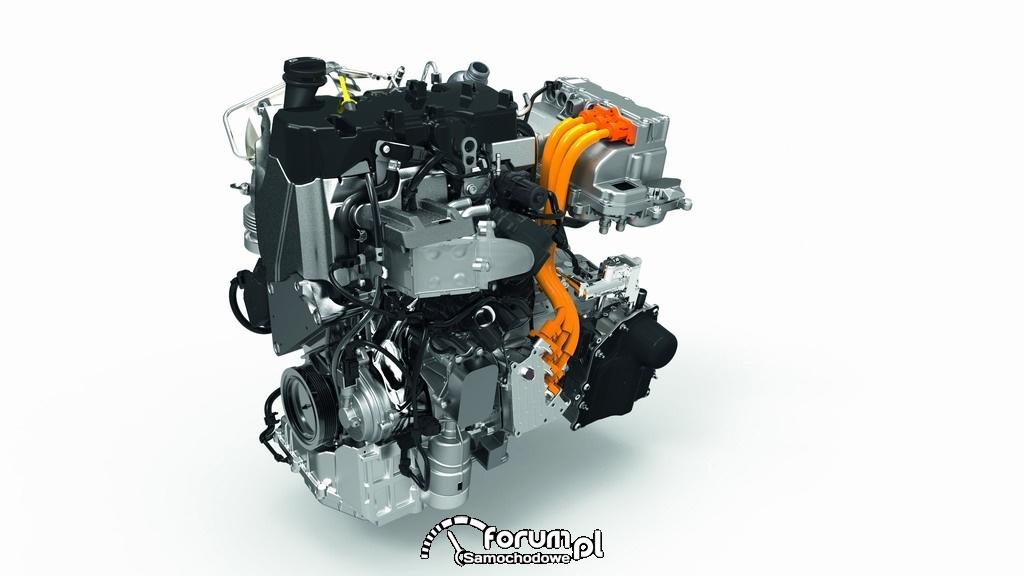 Dwucylindrowy silnik TDI 48KM, Volkswagen XL1
