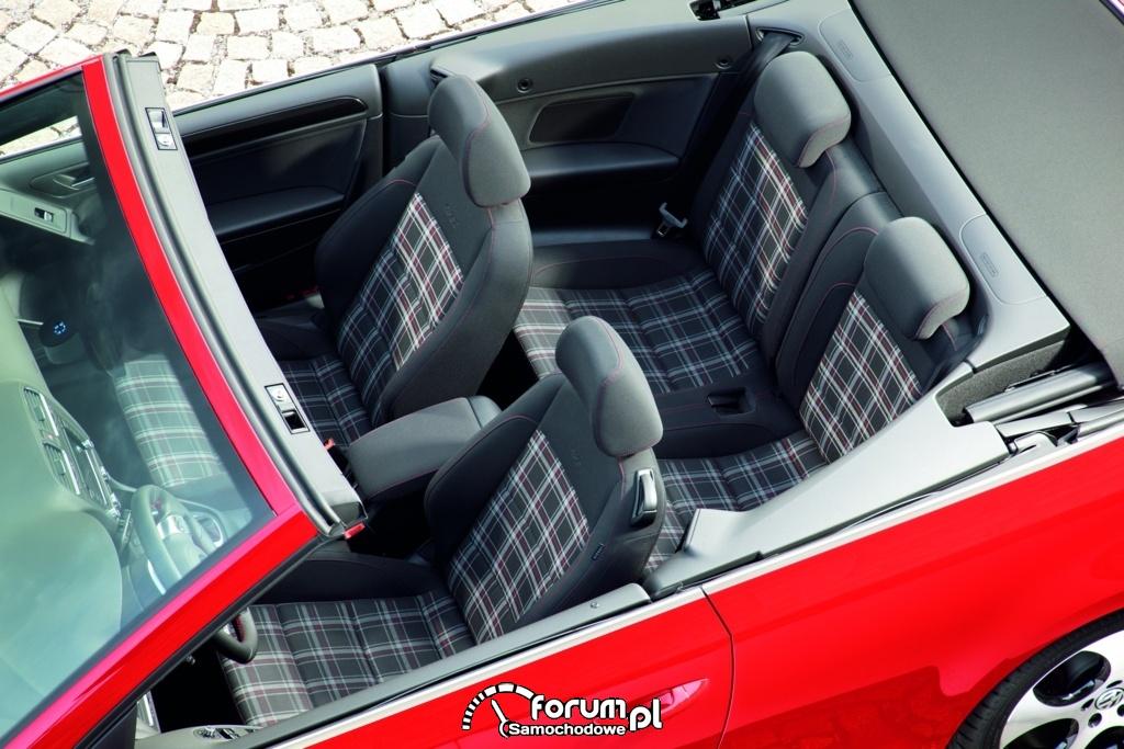 Golf GTI Cabriolet - wnętrze, 3