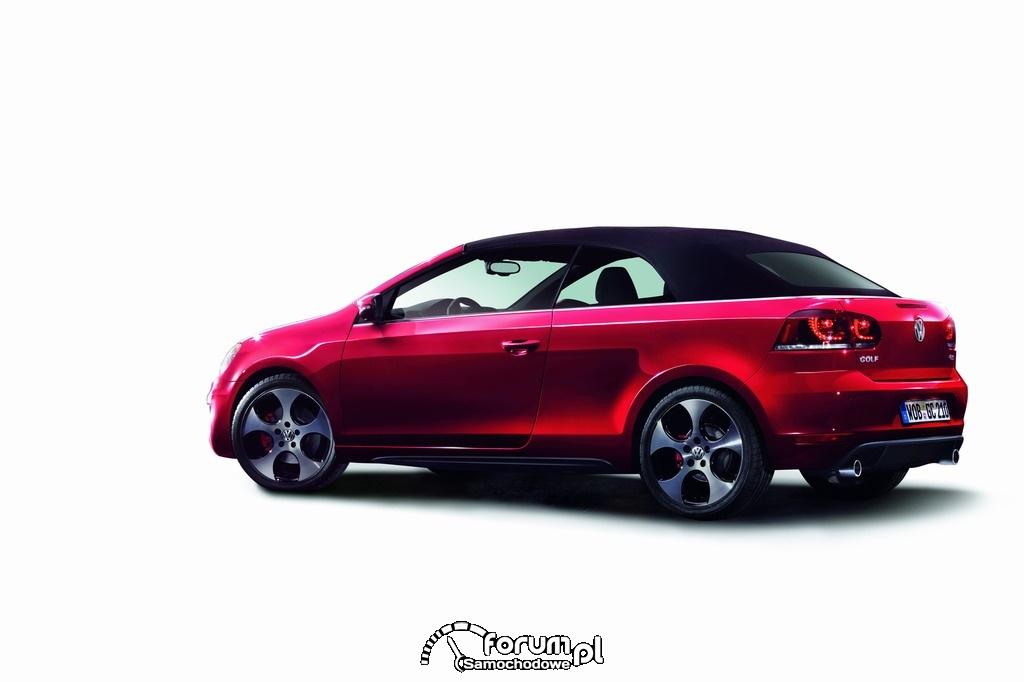 Golf GTI Cabriolet - złożony dach