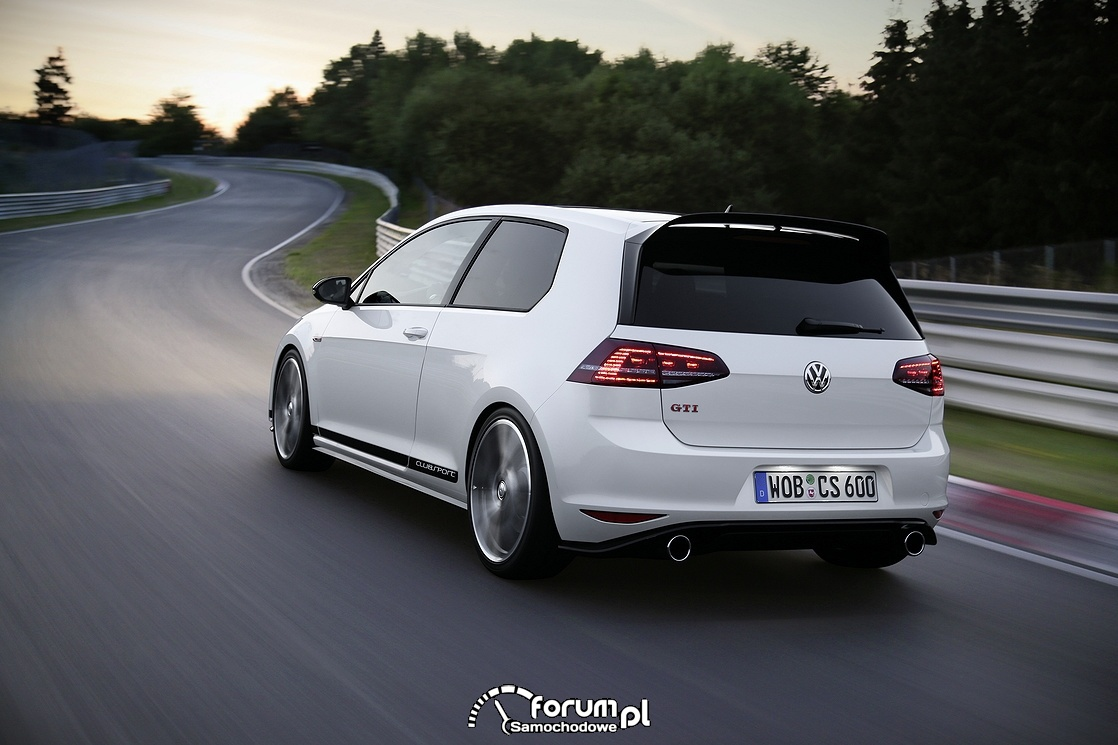 Golf GTI Clubsport, tył