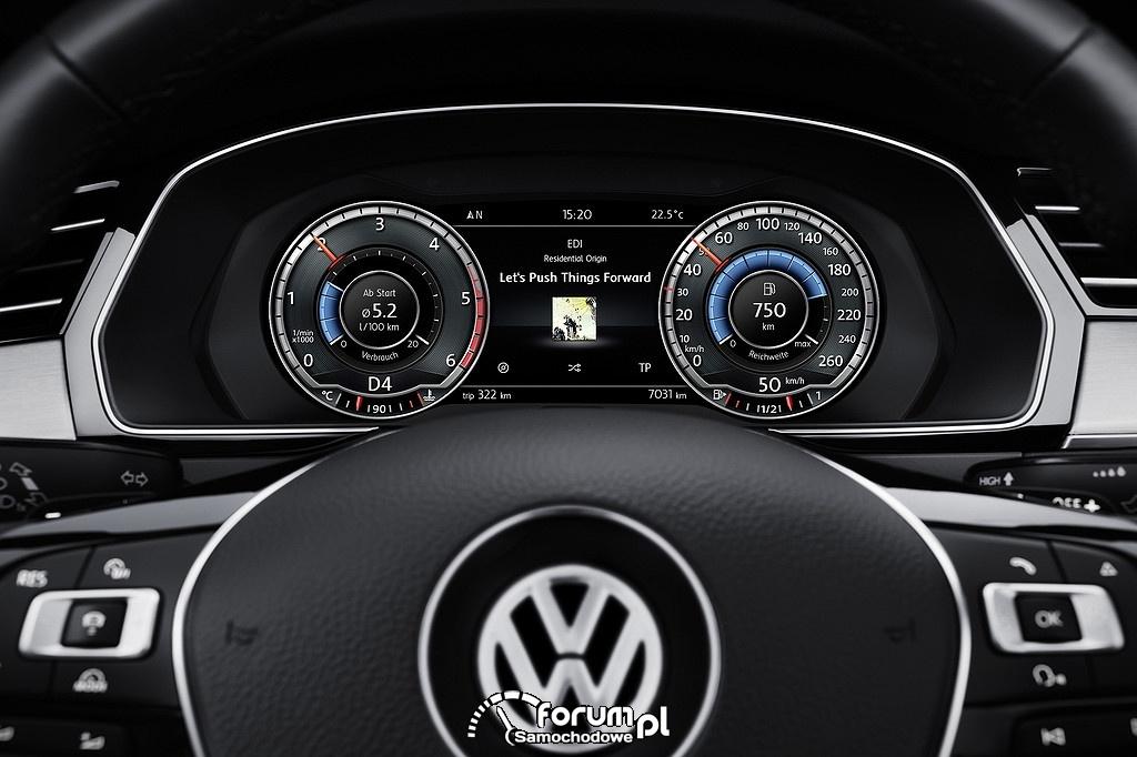 Licznik, zegary, Volkswagen Passat B8