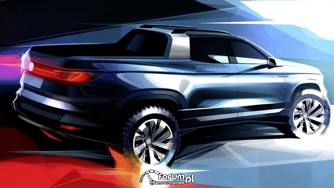 Studyjny pick-up od Volkswagena