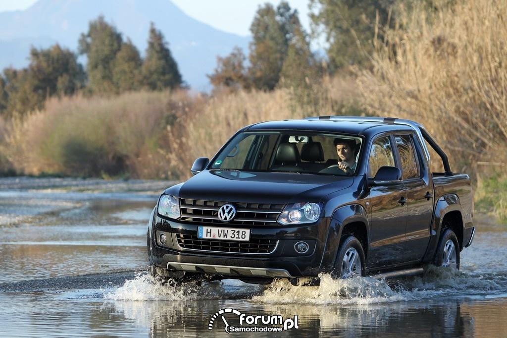Samochody użytkowe Volkswagena z napędem na cztery koła