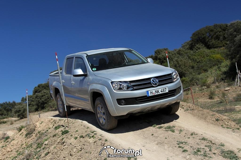 Volkswagen Amarok 4MOTION, PickUp w terenie, 6