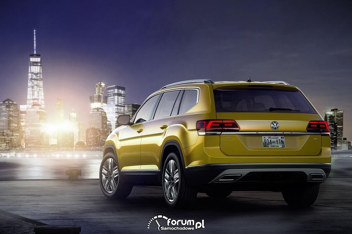 Volkswagen Atlas, tył