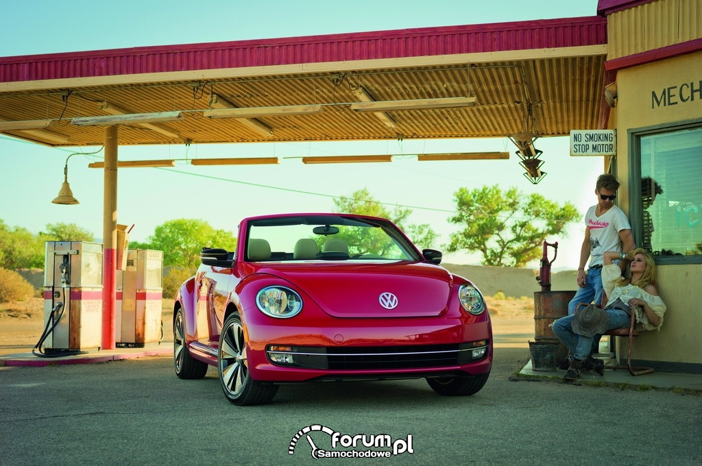 Volkswagen Beetle Cabriolet, przód