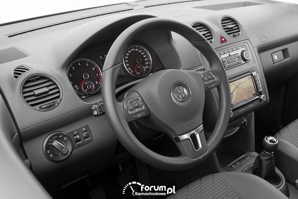 Volkswagen Caddy 1.6 LPG, wnętrze