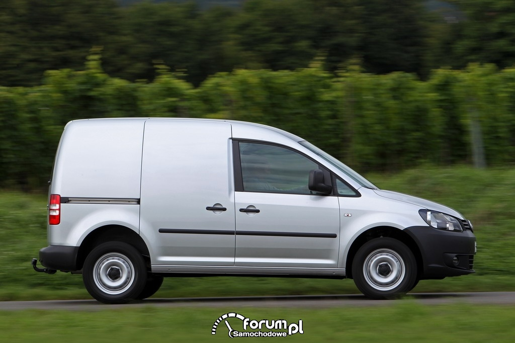 Volkswagen Caddy 4MOTION, furgon, 2