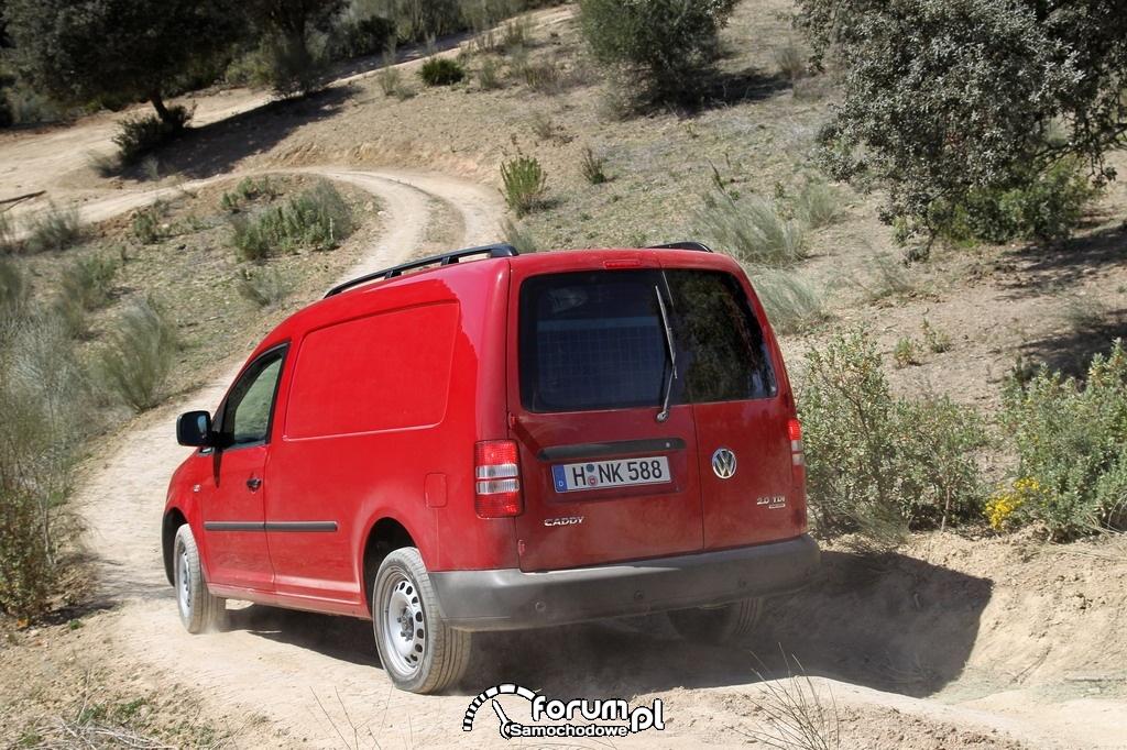 Volkswagen Caddy 4MOTION, furgon w terenie, 3