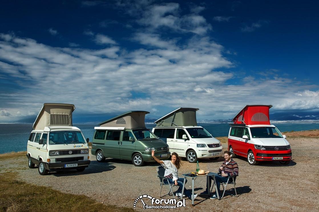 Volkswagen California T3, T4, T5, T6