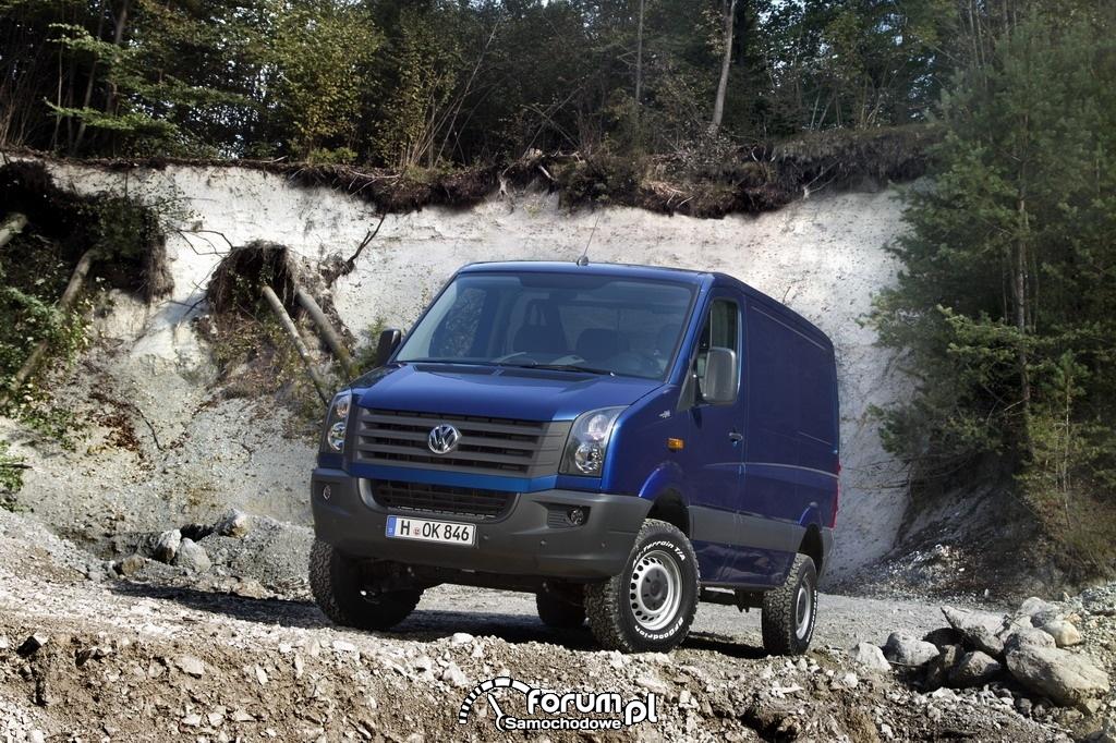Volkswagen Crafter 4MOTION, furgon, 2