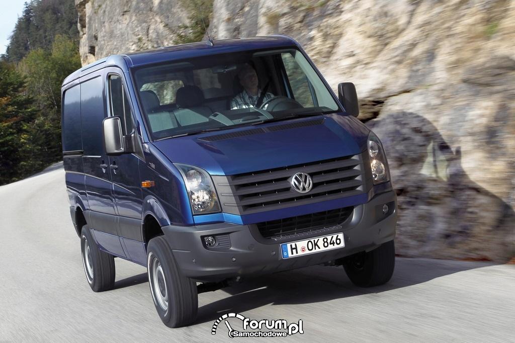 Volkswagen Crafter 4MOTION, furgon