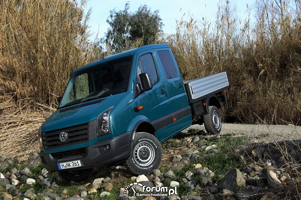 Volkswagen Crafter 4MOTION, skrzyniowy, 2