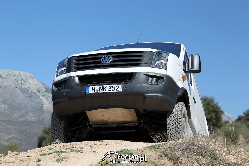 Volkswagen Crafter 4MOTION w terenie, 4