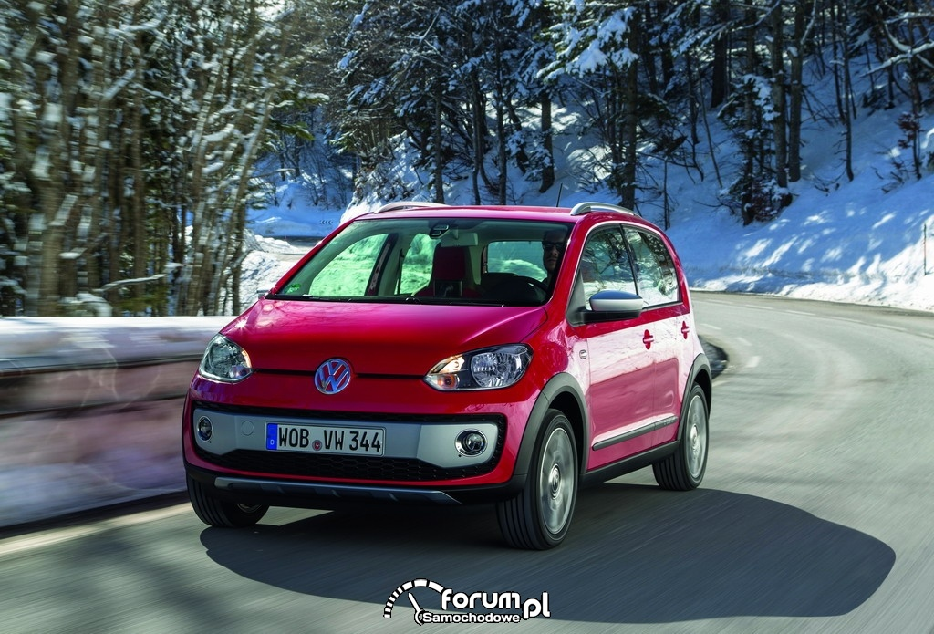 Volkswagen cross up!, przód