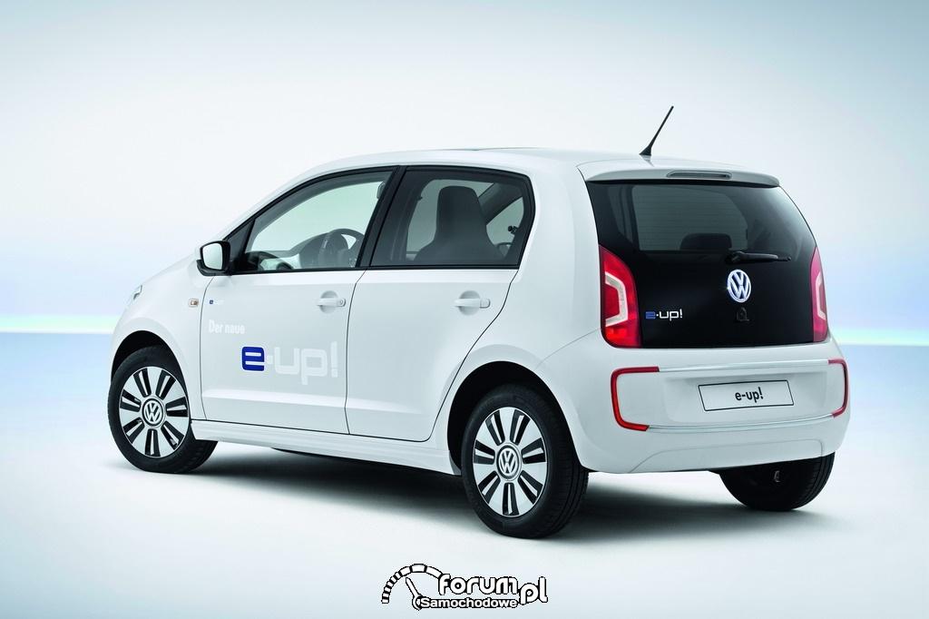 Volkswagen e-up!, elektryczny samochód seryjny, 2