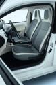Volkswagen e-up!, wnętrze, przednie siedzenia