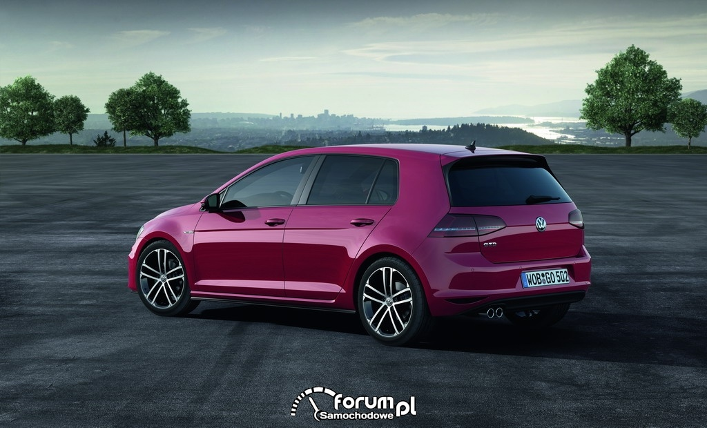 Volkswagen Golf GTD, bok i tył