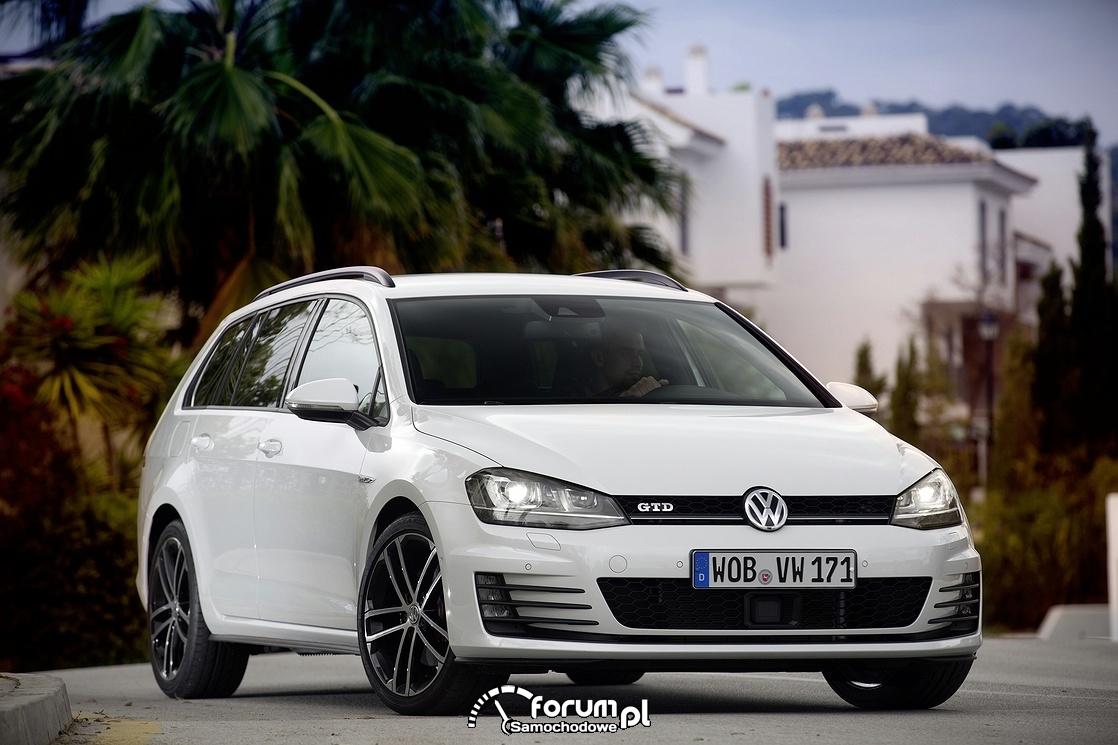 Volkswagen Golf GTD Variant, przód