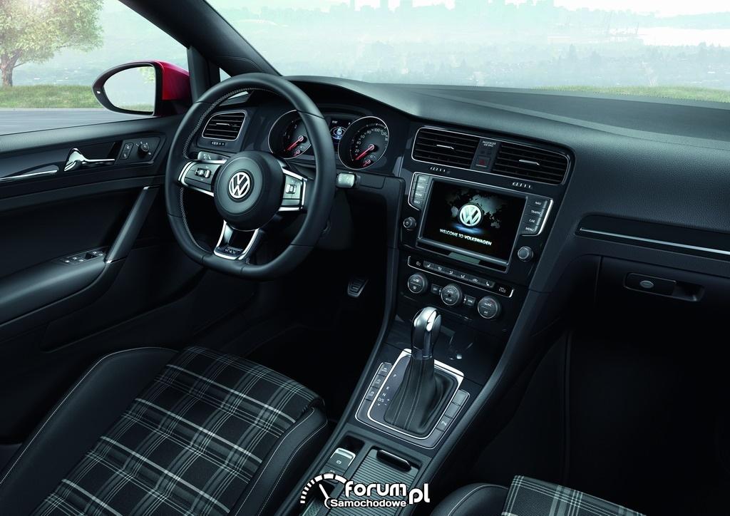 Volkswagen Golf GTD, wnętrze