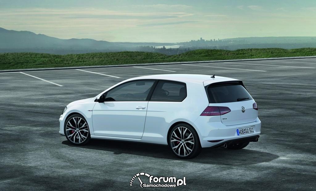 Volkswagen Golf GTI, bok