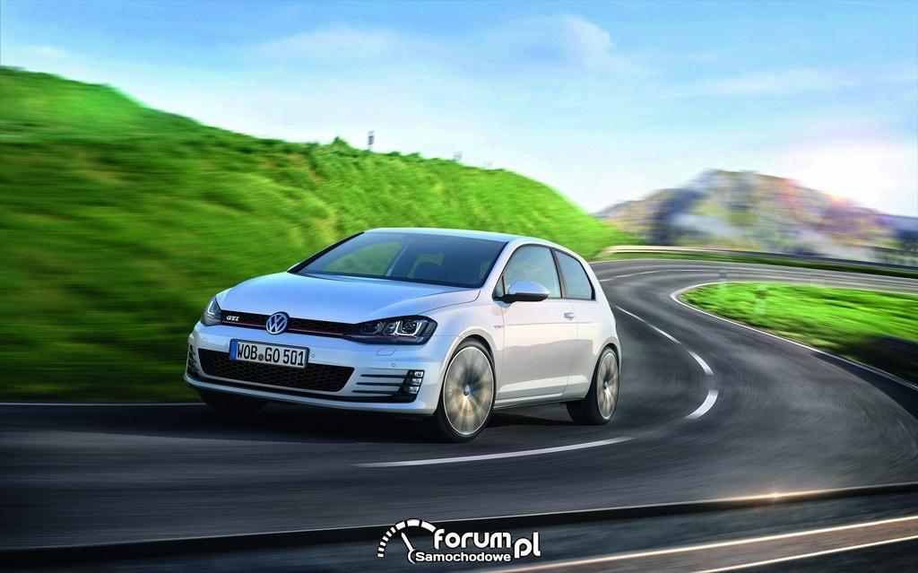 Volkswagen Golf GTI, przód