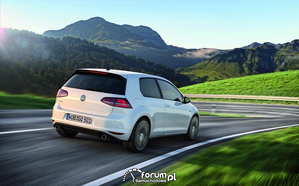 Volkswagen Golf GTI, tył