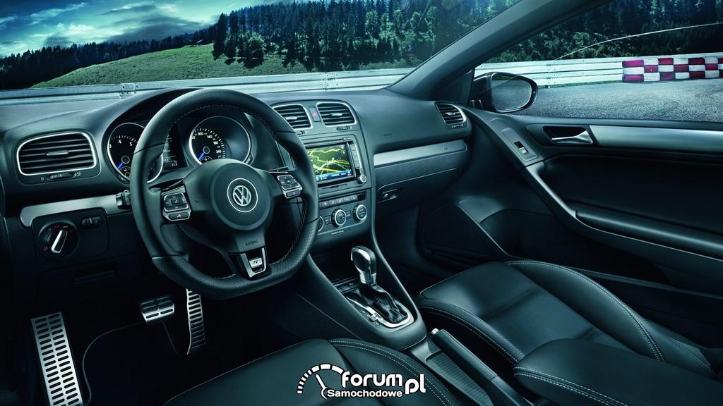 Volkswagen Golf R Cabriolet, wnętrze